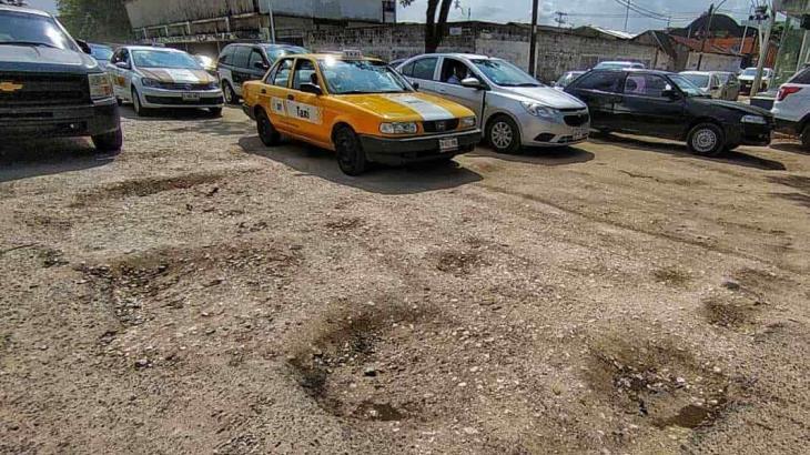 En mal estado se encuentra un tramo del malecón Carlos A. Madrazo de Villahermosa