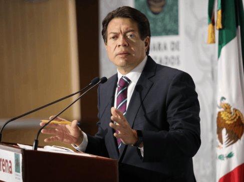 """Tilda Mario Delgado de """"lamentable show"""" postura de la Alianza Federalista"""
