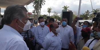 Rinde gobierno federal homenaje a víctimas de sismos