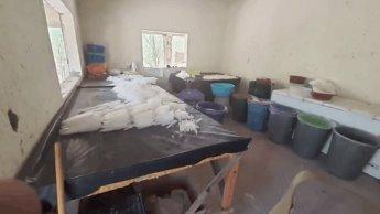 """Ejecuta FGR operativo """"Blue""""; asegura 4 laboratorios clandestinos de droga y 5 personas, en 4 estados"""