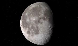 Afirma la NASA que hay agua en la Luna... en una superficie iluminada por el Sol