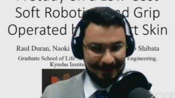 Gana mexicano primer lugar en concurso de Robótica en Japón