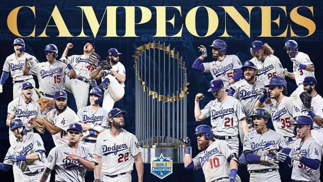 Dodgers, Campeones de la Serie Mundial!