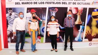 Celebra Comalcalco 193 aniversario de su fundación; debido a la pandemia, los eventos fueron cortos