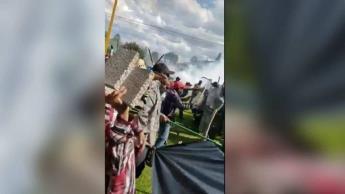 """Detienen a 6 elementos de la Guardia Nacional tras muerte de mujer en protestas de presa """"La Boquilla"""""""