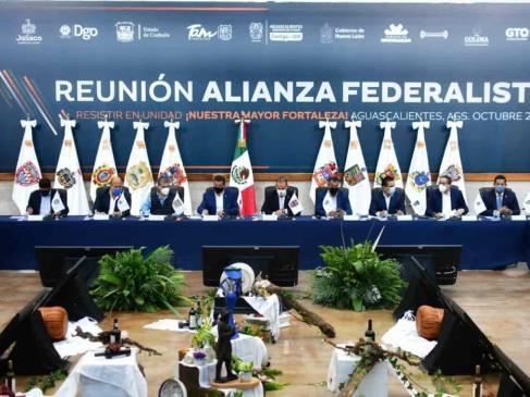 No ve AMLO posibilidad de que se rompa el pacto federal... en México
