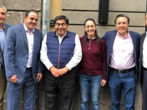 Irresponsable e inconstitucional, intentar romper el Pacto Federal, sostienen gobernadores Morenistas y del PES, al respaldar a AMLO