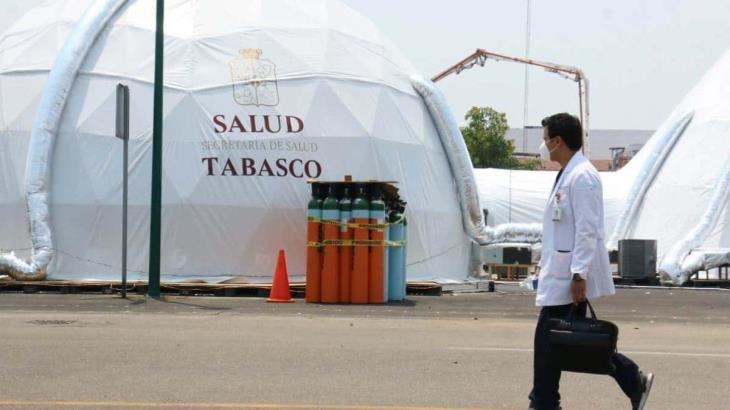 Reporta Tabasco 459 nuevos casos positivos y 10 defunciones más por COVID-19