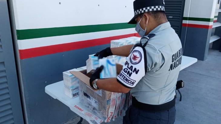 Asegura GN más de mil 300 ampolletas de fentanilo en Querétaro