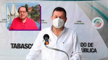 Rechaza Fócil que Manuel Andrade quiera apoderarse del PRD