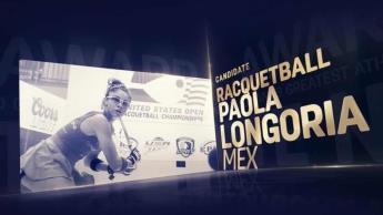 Invitan a votar por Paola Longoria como Mejor Atleta de Todos los Tiempos