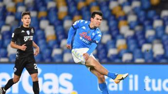 Con golazo del Chucky, Napoli pasa a Cuartos de Final de la Copa Italia