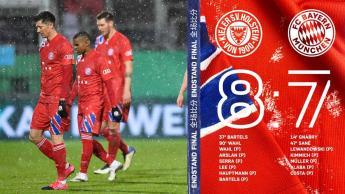 Equipo de Segunda División elimina al Bayern Múnich en la Copa Alemana