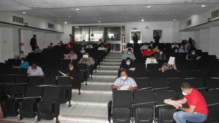 Presentan examen más de 70 priistas tabasqueños que buscan ser candidatos en la elección