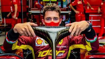 Charles Leclerc da positivo a COVID-19: Ferrari