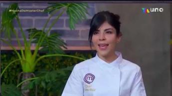 La tabasqueña Gaby Ruiz da una clase de cocina en Master Chef