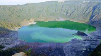 Expertos estudian actividad sísmica del volcán Chichonal en Chiapas