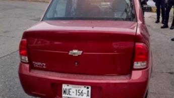 Recuperan vehículo con reporte de robo en Villahermosa