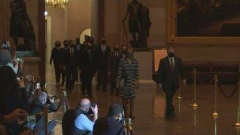 Cámara de Representantes entrega al Senado artículo de Impeachment contra Trump