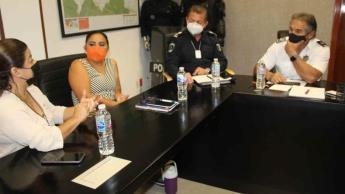 Exponen delegados municipales a SSYPC situación de seguridad en sus colonias