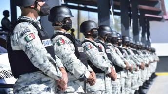 Decomisan más de 13 mil prendas de corporaciones de seguridad en más de una década... en México