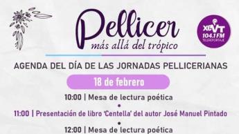 10 eventos se realizarán en el tercer día de las Jornadas Pellicerianas