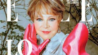 Lolita Ayala aparece en la portada de ELLE; causa polémica por look