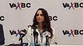 Presentan a Lupita Jones como candidata a la gubernatura de BC por la alianza PRI-PAN-PRD
