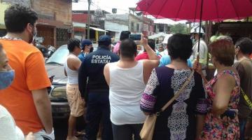 Presunto corte de CFE en colonia Gil y Sáenz detona molestia de vecinos