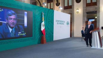 Rememora AMLO su debate con Diego Fernández del año 2000, tras acusaciones del panista en su contra