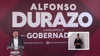 Arranca Alfonso Durazo campaña por la gubernatura de Sonora
