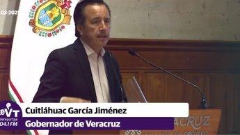 Gobernador de Veracruz señala que asesinato de precandidato está ligado al crimen organizado