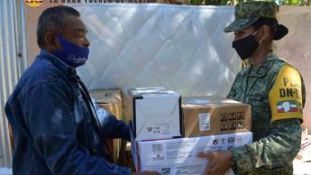 Reporta Bienestar 30% de avance en la entrega de enseres en Centro