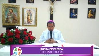 ¿Ya terminaron el proyecto que prometieron?, cuestiona Obispo de Tabasco a alcaldes que buscan nuevos espacios