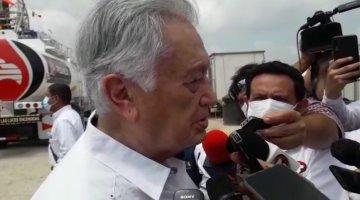 Pregunta Manuel Bartlett si todavía existe el PRD, al enterarse que promocionan la resistencia civil