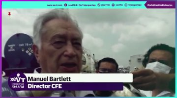 """Ironiza Manuel Bartlett sobre llamado a la resistencia civil: """"¿todavía existe el PRD?"""""""