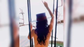 Martha Higareda enciende las redes con video en topless desde Tulum