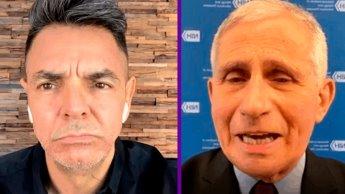 Eugenio Derbez cuestiona al doctor Fauci sobre la seguridad de las vacunas, inmunidad de rebaño y la vacunación de migrantes