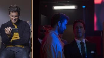 Así reacciona Diego Boneta al ver por primera vez el tráiler de la segunda temporada de Luis Miguel, la serie