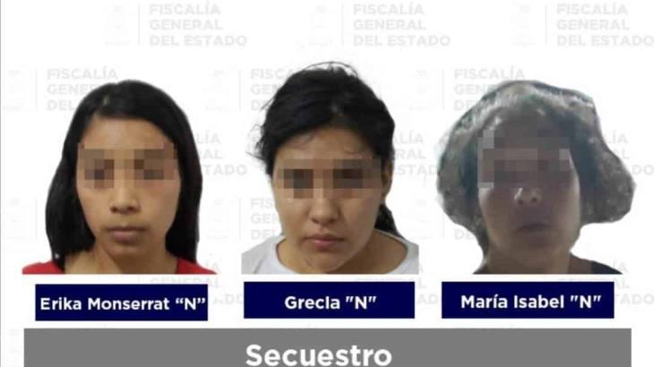 Libera FGE Tabasco a menor víctima de secuestro y detiene a 5 presuntos plagiarios