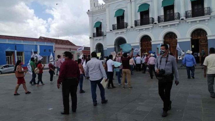 Amagan morenistas con ´éxodo por la democracia´ a CDMX si Adán Augusto no se mantiene al margen del proceso electoral