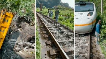 Accidente de tren en Taiwán deja 50 muertos