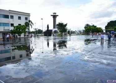 Calles de Villahermosa amanecieron vacías ayer domingo