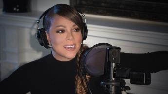 Mariah Carey grita al recibir la vacuna contra el Covid-19