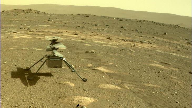 Revela la NASA imágenes de Marte a color