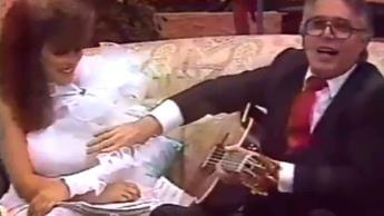 Reviven video donde se ve a Enrique Guzmán tocando el pecho de Verónica Castro sin su consentimiento