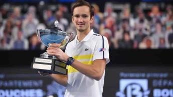 Medvedev, fuera del Masters 1000 de Montecarlo por COVID