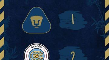 Pumas Tabasco, fuera de la Liguilla MX tras perder ante Cancún