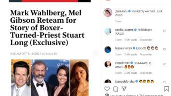 Teresa Ruiz, actriz mexicana que ha participado en algunas series, trabajará con Mel Gibson