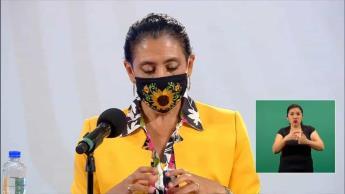 Hospitalización en la CDMX va a la baja, señala la secretaria de Salud, Oliva López